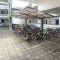 外観 広々スペースの駐輪場はご家族の自転車を置くことができます 駐輪場 年額:1000円