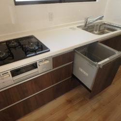 当社施工例 2020年3月上旬完成予定(キッチン)