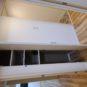 廊下の可動棚は 収納板の高さが変えられますので用途に合わせて片づけが出来ます 廊下の物入などは「使うところにしまえる」を設計 とても便利です